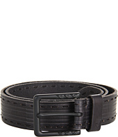 John Varvatos - 39mm Harness on a Stitch Detailed Strap