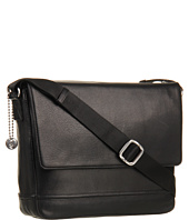 John Varvatos - Dress Leather E/W Messenger
