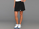 adidas - Tennis Sequencials Core Skort (Black/White) - Apparel