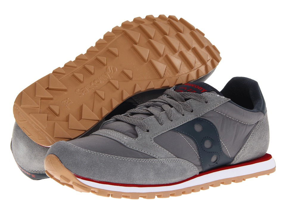 Saucony Originals - Jazz Low Pro (Charcoal/Red SP 2013) Men