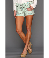Big Star - Alex Mid Rise Shorts in Sage Blossom