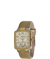 Philip Stein - Small Classic Two-Tone Gold Plated Watch On Gold Karung Strap