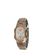 Philip Stein - Small Signature Two-Tone Rose Gold Plated Watch On Stainless Steel Bracelet