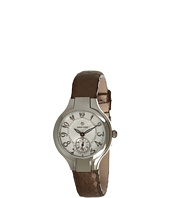 Philip Stein - Mini Round Watch On Bronze Satin Snake Strap