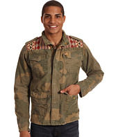Scotch & Soda - Camo Military Shirt Jacket