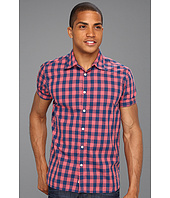 Scotch & Soda - S/S Poplin Block Checkered Shirt