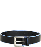 MICHAEL Michael Kors - 32Mm Edge Painted Veg Belt With Thick Roller Buckle