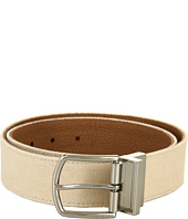 MICHAEL Michael Kors - 38Mm Elongated Horseshoe Buckle Canvas And Pebble