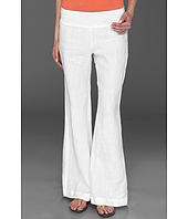 Three Dots - Long Flare Linen Pant
