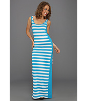 Three Dots - Block Stripe Column Dress