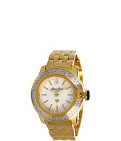 Glam Rock - Lady SoBe 40mm Diamond Gold Plated Watch- GR31005D