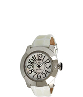 Glam Rock - SoBe 44mm Stainless Steel Watch with Patent Strap- GR32050
