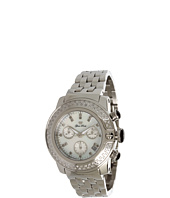 Glam Rock - Lady SoBe 40mm Stainless Steel Chronograph Watch with Diamonds- GR31138D