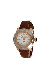 Glam Rock - Lady SoBe 40mm Diamond Rose Gold Plated Watch-GR31007D