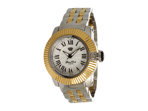 Glam Rock Lady SoBe 40mm Two-tone Gold Plated Watch- GR31015