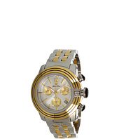 Glam Rock - Lady SoBe 40mm Two-tone Gold Plated Chronograph Watch- GR31115
