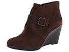 Clarks - Daylily Surety (Dark Brown Suede) - Clarks Shoes
