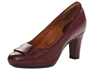 Clarks - Society Disc (Burgundy Leather) - Clarks Shoes