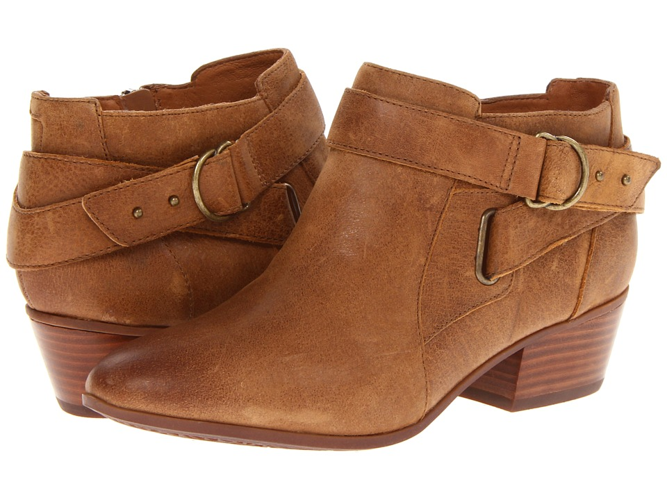Clarks Spye Belle (Brown Leather) Women's Boots