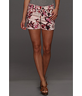 DKNY Jeans - Multi Flower Tie Dye Print Cut Off Short