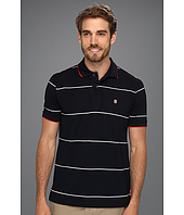 IZOD - Short Sleeve Poly Pique Stripe Polo Shirt