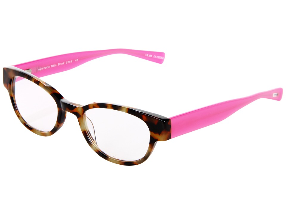 eyebobs - Rita Book Readers (Tortoise/Pink) Reading Glasses Sunglasses