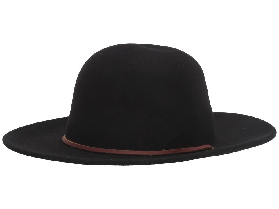 Brixton - Tiller (Black) Traditional Hats