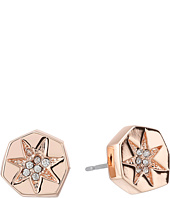 Vince Camuto - Rose Gold Crystal Pave Studs