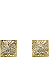 Vince Camuto - Gold Pave Pyramid Studs