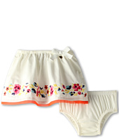 Juicy Couture Kids - Embroidered Skirt and Bloomer Set (Infant)