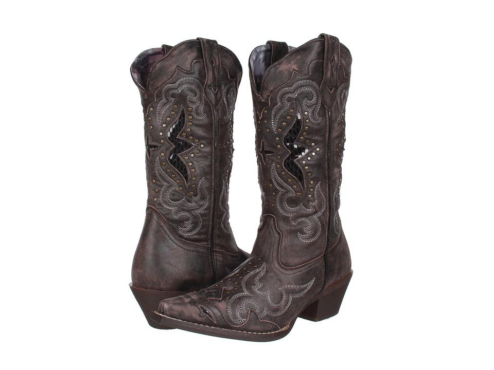 Laredo Lucretia (Dark Black/Tan) Cowboy Boots