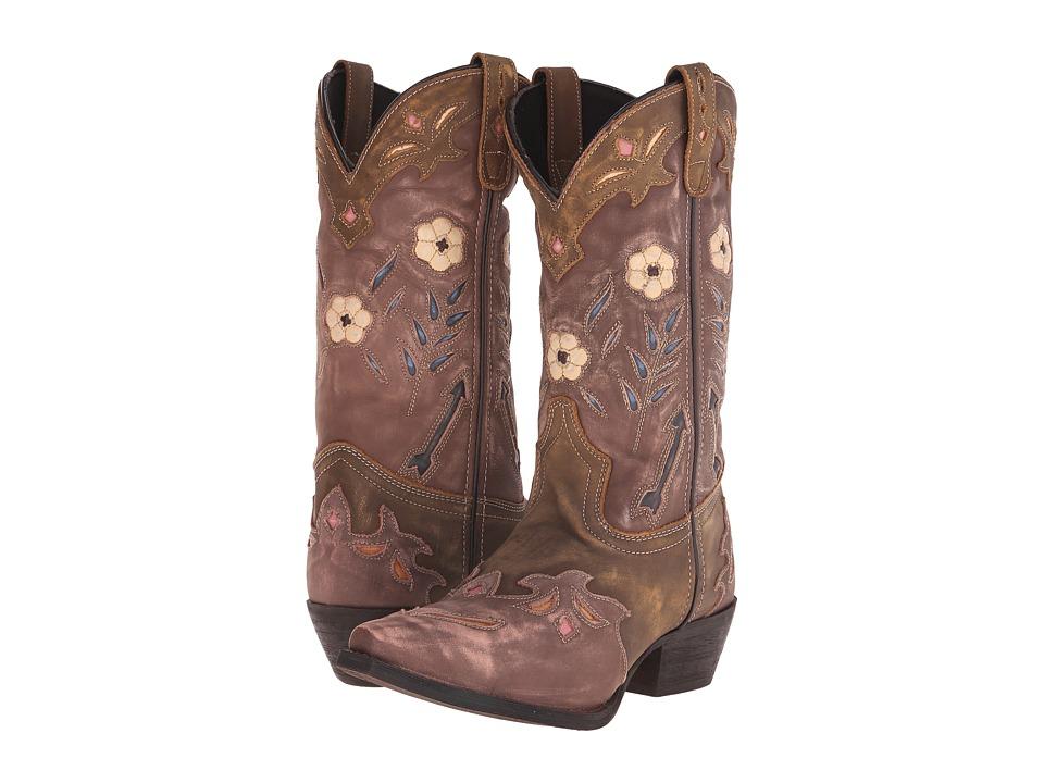 Laredo - Miss Kate (Tan/Pink) Cowboy Boots