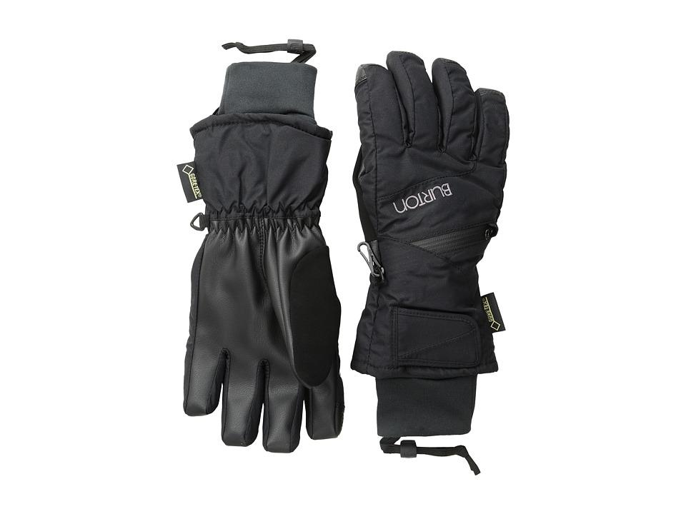 Burton WMS GORE-TEX Under Glove (True Black FA 13) Snowboard Gloves