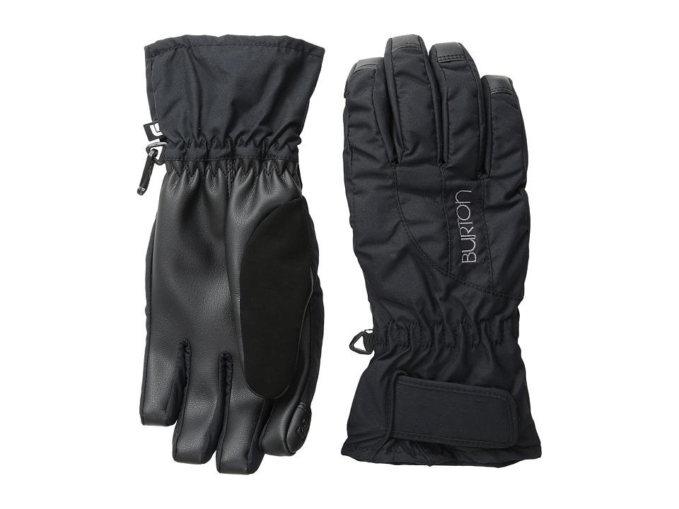 Burton WMS Profile Under Glove (True Black) Snowboard Gloves