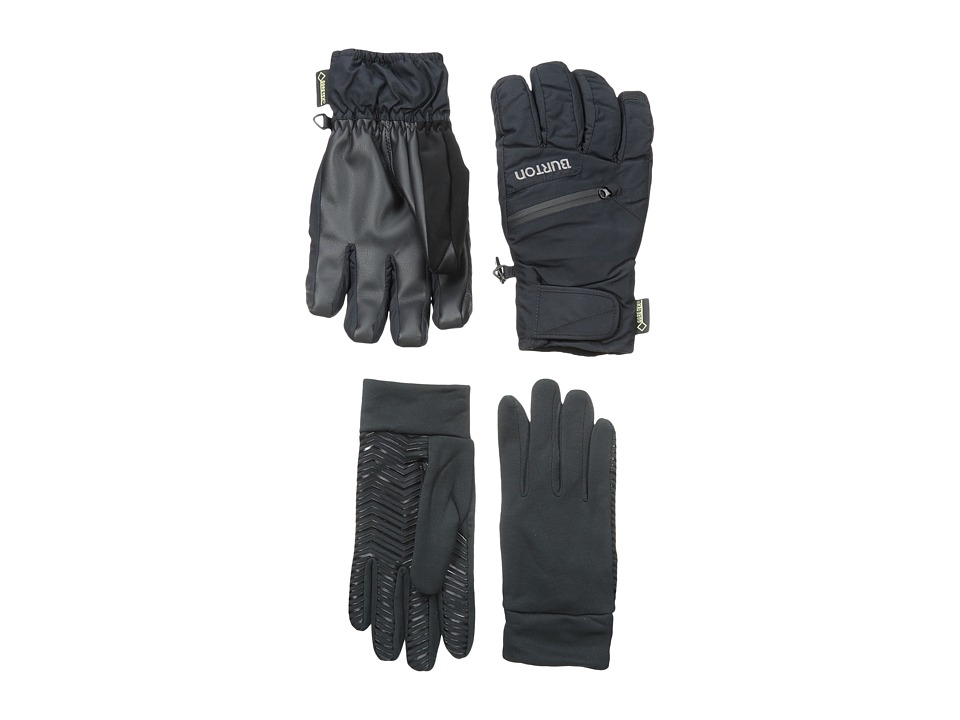 Burton - Mens GORE-TEX(r) Under Glove (True Black) Snowboard Gloves