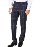 Moods of Norway - Even Flo Slim Navy Check Suit Pant