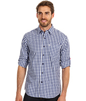 Moods of Norway - Classic Fit Anders Vik Navy Check Shirt