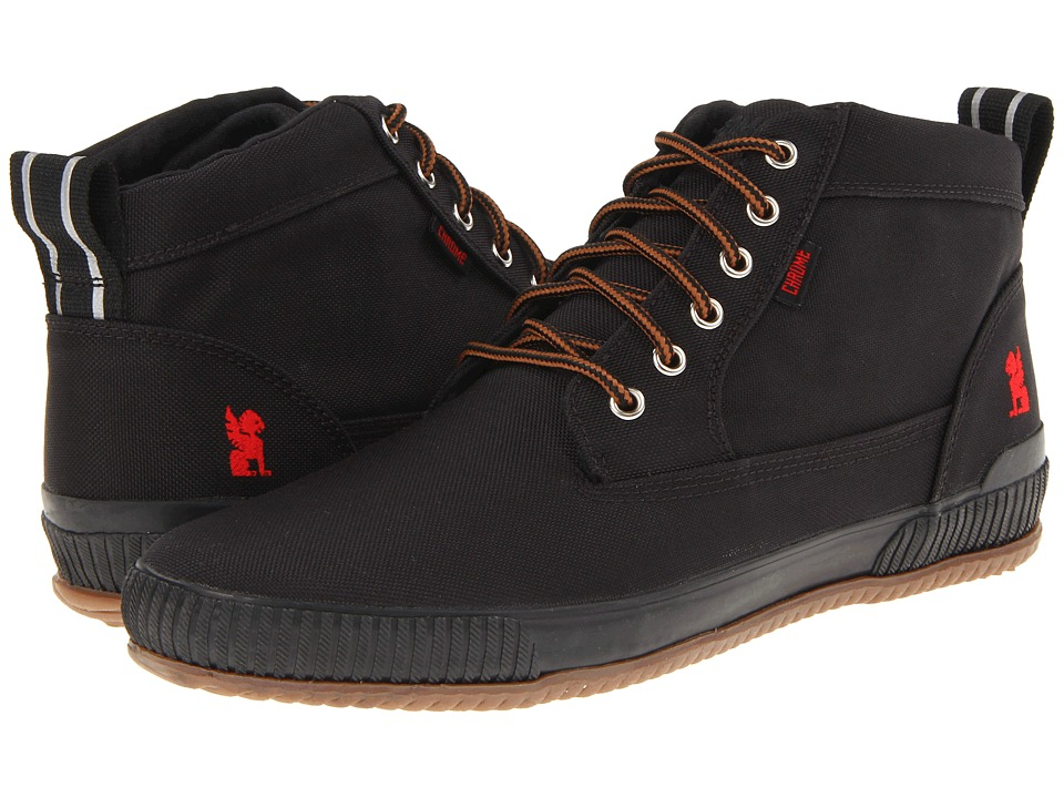 Chrome 415 Workboot Black Lace up Boots