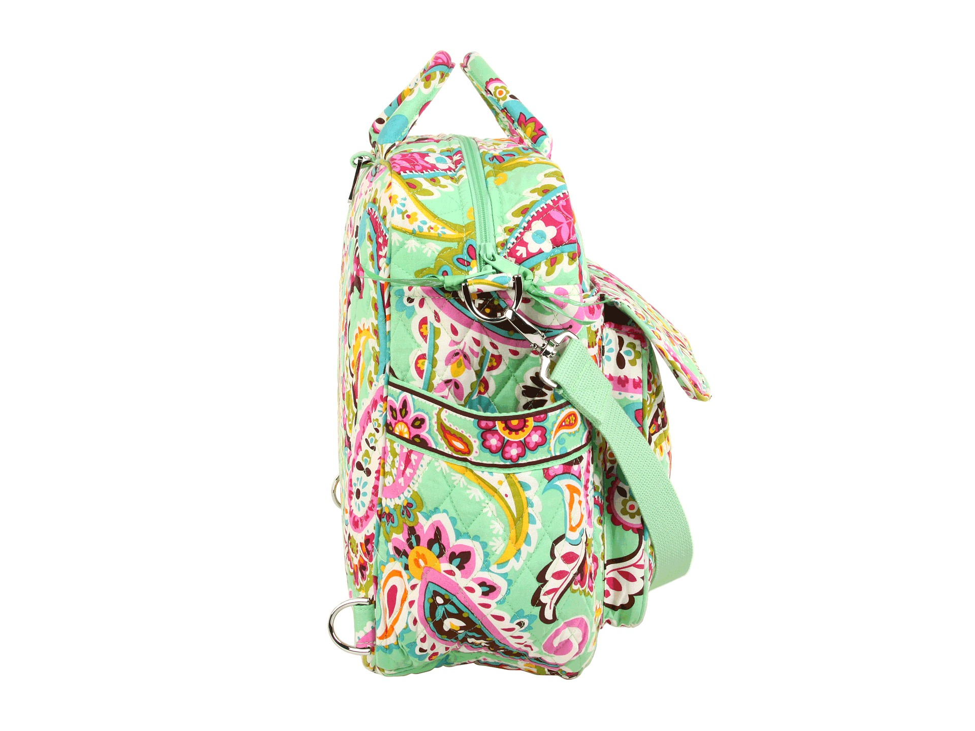 vera bradley convertible baby bag tutti frutti shipped free at zappos. Black Bedroom Furniture Sets. Home Design Ideas