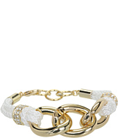 GUESS - Knotted Cord and Chain Link Bracelet