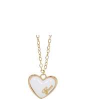 GUESS - Puffy Enamel Heart Pendant