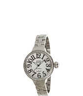 Miami Beach by Glam Rock - Art Deco 36mm Stainless Steel Watch with Crystal - MBD27173