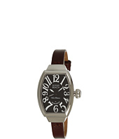 Miami Beach by Glam Rock - Art Deco 30mm Leather Watch - MBD27068