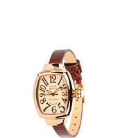 Miami Beach by Glam Rock - Art Deco 26 mm Leather Watch - MBD27082