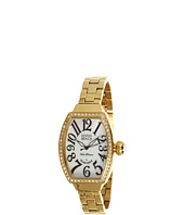 Miami Beach by Glam Rock - Art Deco 30mm Gold Plated Watch with Crystal - MBD27176