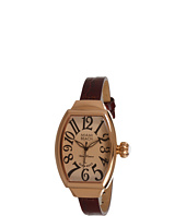 Miami Beach by Glam Rock - Art Deco 30mm Leather Watch - MBD27088