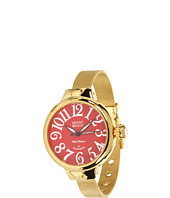 Miami Beach by Glam Rock - Art Deco 36mm Gold Plated Watch - MBD27079