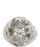 GUESS - Domed Cutout Flowers Ring