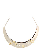 GUESS - Collar Necklace w/ Flowers And Crystals