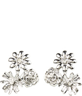 GUESS - 3 Flower Cluster Button Earrings